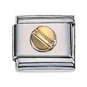 Afbeelding van Zoppini - 9mm - diversen goud schroef
