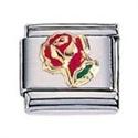 Afbeelding van Zoppini - 9mm - diversen rode roos
