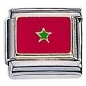 Afbeelding van Zoppini - 9mm - vlaggen Marokko