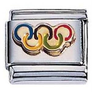 Afbeelding van Zoppini - 9mm - sporten olympische ringen