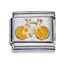 Afbeelding van Zoppini - 9mm - sporten fiets geel